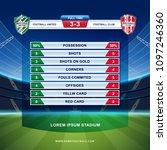 soccer  football league or... | Shutterstock .eps vector #1097246360