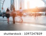 people are busy with sunlight...   Shutterstock . vector #1097247839