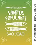 translation  popular saints....   Shutterstock .eps vector #1097248706