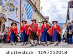 garmisch partenkirchen  germany ... | Shutterstock . vector #1097252018