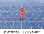 engineers are checking the...   Shutterstock . vector #1097258894