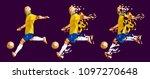vector illustration soccer...   Shutterstock .eps vector #1097270648