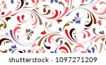 floral seamless texture for... | Shutterstock .eps vector #1097271209