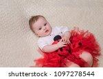 beautiful baby photo | Shutterstock . vector #1097278544