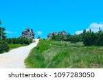 tourist trail in the national... | Shutterstock . vector #1097283050