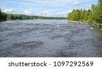 Finland, Konnevesi, Siikakoski rapids