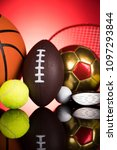 balls  sports equipment | Shutterstock . vector #1097293844