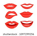 vector illustration collection... | Shutterstock .eps vector #1097299256