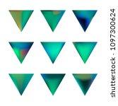 vector gradient reverse... | Shutterstock .eps vector #1097300624