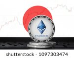 ethereum  eth  cryptocurrency ... | Shutterstock . vector #1097303474