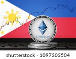 ethereum  eth  cryptocurrency ... | Shutterstock . vector #1097303504