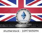ethereum  eth  cryptocurrency ... | Shutterstock . vector #1097305094