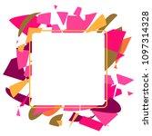 frame art colorful design...   Shutterstock .eps vector #1097314328