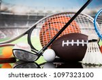 balls  sports equipment | Shutterstock . vector #1097323100