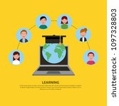 people learning concept | Shutterstock .eps vector #1097328803