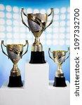winner podium sports symbols | Shutterstock . vector #1097332700