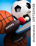 balls  sports equipment | Shutterstock . vector #1097333438