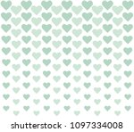 vector geometric heart...   Shutterstock .eps vector #1097334008