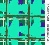 kilt texture. seamless grunge... | Shutterstock .eps vector #1097335979