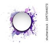 banner blot presentation ... | Shutterstock .eps vector #1097344073