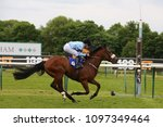 Small photo of Knighted (IRE) ridden by Kevin Stott & trained by Kevin Ryan winning the 1m Handicap on Ladies Day at Nottingham Races : Colwick Park, Nottingham, UK : 12 May 2018 : Pic Mick Atkins