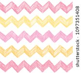 seamless background with zigzag ... | Shutterstock .eps vector #1097351408