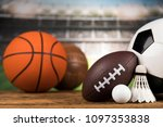 balls  sports equipment | Shutterstock . vector #1097353838