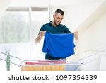 Laundry And Household Concept ...