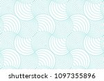 green aqua line and white... | Shutterstock .eps vector #1097355896