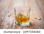 alcohol addiction and...   Shutterstock . vector #1097358383