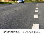 countryside asphalt road | Shutterstock . vector #1097361113