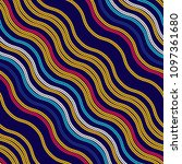 seamless pattern of yarn.... | Shutterstock .eps vector #1097361680