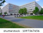 frankfurt am main  germany  9... | Shutterstock . vector #1097367656