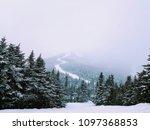 jay peak resort  vermont | Shutterstock . vector #1097368853