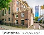 amsterdam may 18 2018   jewish... | Shutterstock . vector #1097384714
