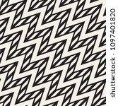vector seamless zigzag line... | Shutterstock .eps vector #1097401820