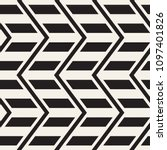 vector seamless zigzag line... | Shutterstock .eps vector #1097401826
