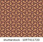 vector seamless pattern. modern ... | Shutterstock .eps vector #1097411720