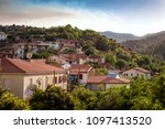 Small photo of View of Kaliana village. Nicosia District, Cyprus.