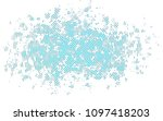 light blue vector cover with... | Shutterstock .eps vector #1097418203