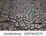 climate warming dry chapped... | Shutterstock . vector #1097442674