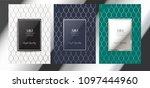 luxury premium menu design... | Shutterstock .eps vector #1097444960