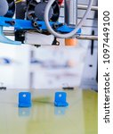 3d printer of the device during ... | Shutterstock . vector #1097449100