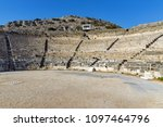 ruins of the ancient city of... | Shutterstock . vector #1097464796
