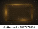 vector glowing magic square... | Shutterstock .eps vector #1097477096