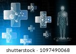 abstract background technology... | Shutterstock .eps vector #1097490068