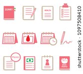 icons set. these are suitable...   Shutterstock .eps vector #1097508410