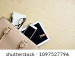 business woman's everyday life... | Shutterstock . vector #1097527796