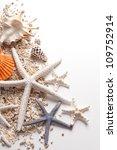 Seashells And Starfish Over...