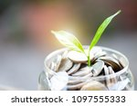 investment and financial... | Shutterstock . vector #1097555333